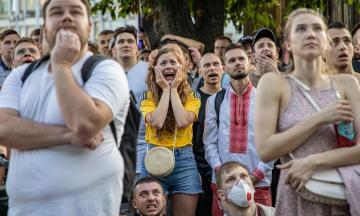Збірна України програла Австрії, але вона ще може вийти у плей-оф Євро-2020. Ми сьогодні вболювали і дуже-дуже засмутилися. Ось як це було — у 10 фото з фан-зони