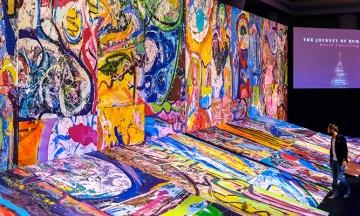 У Дубаї за понад $60 мільйони продали найбільшу картину у світі. Кошти підуть на потреби дітей