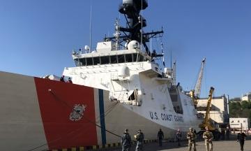 Українсько-американські навчання в Чорному морі: корабель берегової охорони США Hamilton зайшов в Одесу