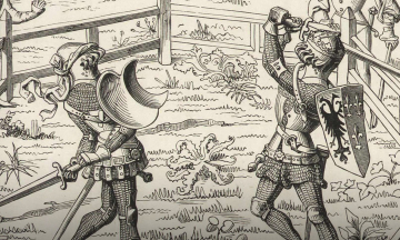 Режиссер Ридли Скотт снял «Последнюю дуэль» — о реальном поединке двух рыцарей в XIV веке. Мы еще не видели фильм, но настоящая история этой дуэли сама по себе как кино