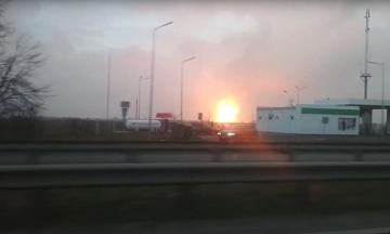 Взрыв газопровода в Полтавской области: подача газа полностью восстановлена