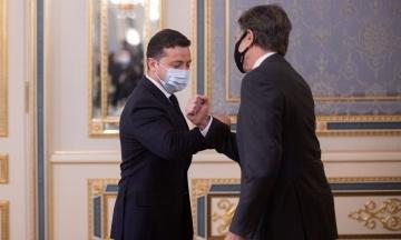 Глава Госдепа Блинкен впервые встретился с Зеленским. Говорили о России, реформах и коррупции