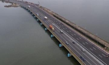 На Одещині відкрили міст на шість смуг через Хаджибейський лиман
