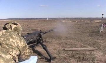 Українські військові випробовують крупнокаліберний кулемет і гвинтівку від харківського XADO