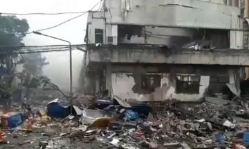У Китаї на продовольчому ринку вранці прогримів вибух. Загинули щонайменше 12 людей