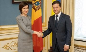 ОП: Президент Молдовы Санду приедет в Украину через 10 дней, а визит Макрона ожидают в первой половине года