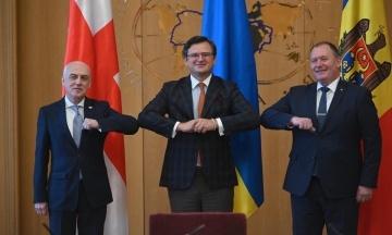 В Євросоюзі підтримали «Асоційоване тріо» України, Молдови та Грузії