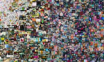 Художник Beeple продав цифровий колаж як NFT-токен за $69 млн. Це рекорд