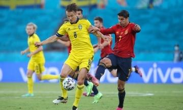 Евро-2020: Испания и Швеция сыграли вничью, лидер группы Е — Словакия