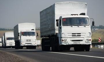 Росія перекинула на окуповану частину Донбасу сотий «гумконвой» — там начебто «медичне обладнання» і «ліки»