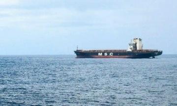 В Індійському океані горів контейнеровоз з українськими моряками. МЗС уточнює інформацію