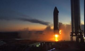 SpaceX провела перший запуск двигуна Raptor на прототипі Starship SN20