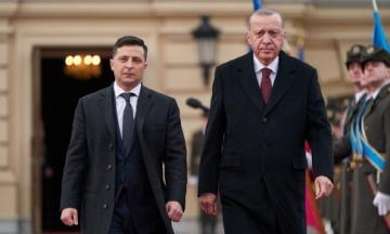 Президент Ердоган підтвердив український статус Криму і підписав декларацію із Зеленським
