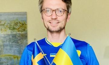 Посол Швеції привітав Україну з перемогою — він вже поздоровляв її мемом із виходом у плей-оф