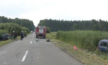 У Польщі в ДТП постраждали семеро українців. Мікроавтобус, в якому вони їхали, протаранив легковик