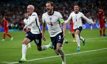 Англія вперше в історії вийшла до фіналу Чемпіонату Європи з футболу