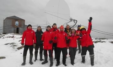 На антарктической станции «Вернадский» заработал безлимитный интернет