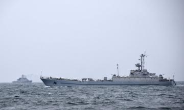 У Чорному морі пройшли військові навчання українських кораблів із румунським корветом