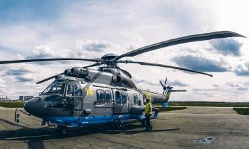 Нацгвардия получила третий французский вертолет Airbus Н-225. До конца года прибудет еще четыре