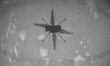 NASA впервые в истории запустило дрон на другой планете — на Марсе