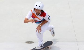 Олимпийские игры в Токио: 13-летняя японка стала первой обладательницей золота по скейтбордингу среди женщин