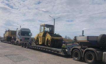 В Донецкой области злоумышленники присвоили технику иностранной компании для строительства дорог за 150 млн грн