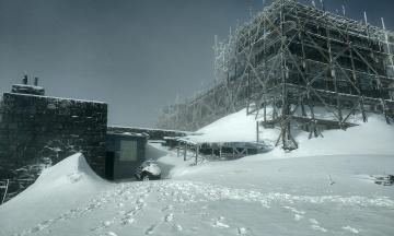 На горі Піп Іван випало 20 см снігу. У Карпатах значна небезпека лавин