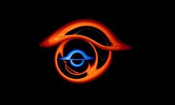 Суперкомпьютер NASA создал визуализацию «танца» двух черных дыр. Видео демонстрирует неожиданные оптические явления