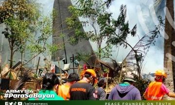 Кількість жертв падіння військового літака на Філіппінах зросла до 45