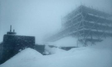 На горі Піп Іван за ніч випало до 15 см снігу