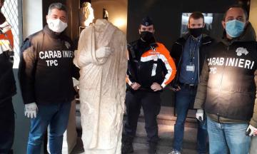У Бельгії знайшли викрадену давньоримську статую — її випадково побачили на вітрині в антикварній крамниці