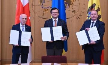 Україна, Молдова та Грузія об'єдналися в «Асоційоване тріо» для спільного вступу в ЄС