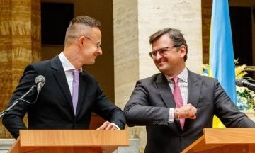 Создадут рабочую группу и проведут бизнес-форум. Украина и Венгрия договорились о переговорах по языковому закону и образованию