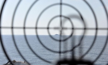 Российский корабль для слежки за учениями Sea Breeze имитировал поломку
