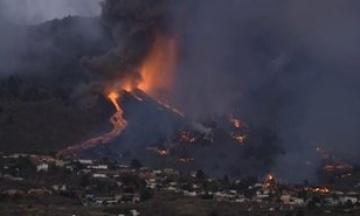 Украину накрыли воздушные массы с диоксидом серы с острова Ла-Пальма, где продолжается извержение вулкана