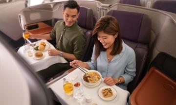 Сингапурская авиакомпания из-за пандемии переоборудовала самолет под ресторан