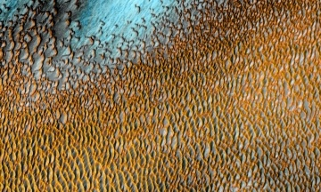 «Море дюн». NASA подготовило завораживающий снимок марсианского ландшафта