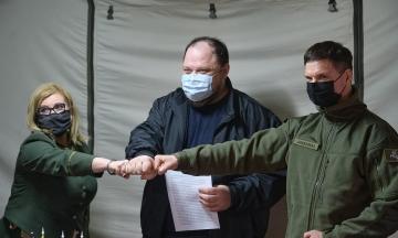 Представники парламентів України, Литви та Польщі підписали на Донбасі спільну заяву про засудження агресивних дій Росії
