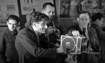 94 года назад на еще недостроенной Киевской киностудии начали снимать первый фильм. Вспоминаем, как появилась главная кинофабрика «Украинского Голливуда» — история в архивных фото