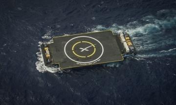 SpaceX створила третю безпілотну плавучу посадкову платформу. Маск показав відео
