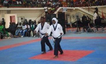 Нигерийская спорсменка на восьмом месяце беременности выиграла золотую медаль по тхэквондо
