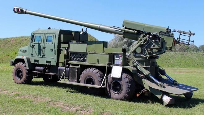 На полігоні «Широкий лан» вперше випробовують українську САУ «Богдана»