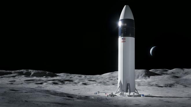NASA обрало компанію Ілона Маска SpaceX для розробки корабля, що доставить людей на Місяць