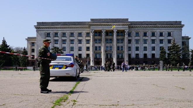 В МВД заверили, что памятные мероприятия в Одессе прошли «спокойно»