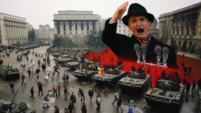 У 1989 році румунський диктатор Ніколае Чаушеску зібрав мітинг на свою підтримку під час антиурядових протестів. Через чотири дні його розстріляли — ось як це було