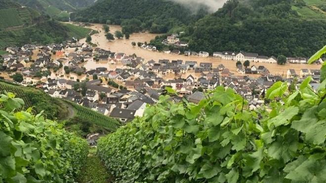 Наводнения в Западной Европе: правительство Германии выделило пострадавшим регионам 400 миллионов евро