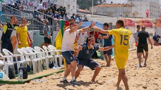 Збірна України з пляжного футболу не гратиме на чемпіонаті світу в Москві