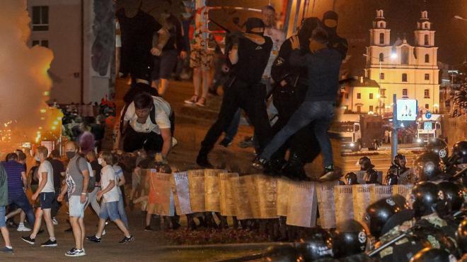 Десятки поранених і затриманих. У день виборів по всій Білорусі прокотилася хвиля протесту. Ось як це все відбувалося — трансляція «Бабеля»