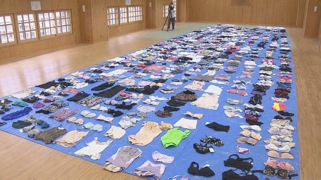 В Японії чоловік вкрав з пралень 730 предметів жіночої білизни. Поліція вражена