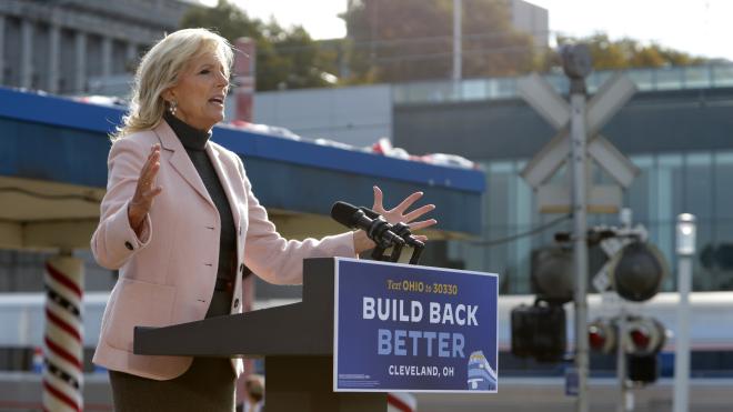 Джилл Байден повернеться на роботу в коледж. Вона стане першою дружиною президента США, яка працюватиме не в Білому домі
